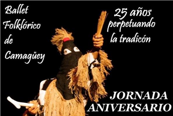 De fiesta el Ballet Folklórico de Camagüey por su aniversario 25