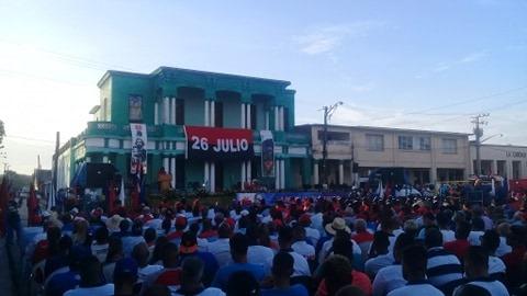 Camagüeyanos conmemoran Día de la Rebeldía Nacional (+ Fotos)