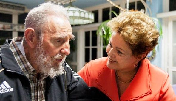 Fidel, el amigo de Brasil