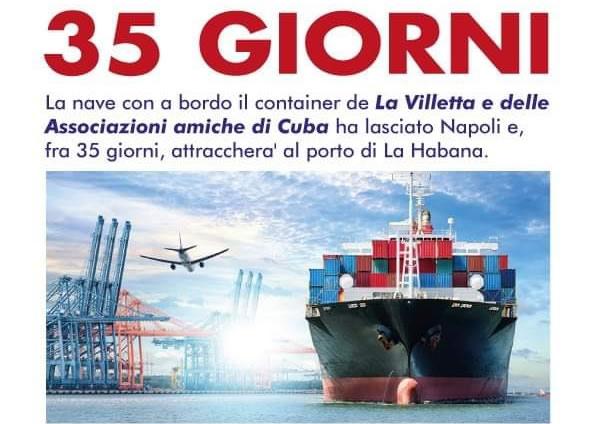 Solidaridad italiana y maltesa navegan hacia Cuba