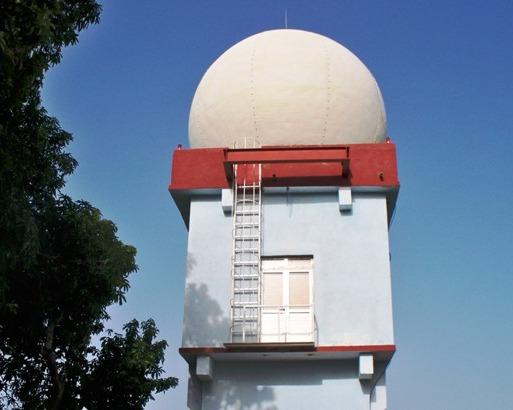 Centro Nacional de radares, en la ciudad de Camagüey.