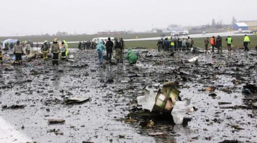 Abren pesquisa por catástrofe área de FlyDubai en Rusia