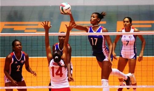 Vence Cuba a Australia en Grand Prix de Voleibol (f)