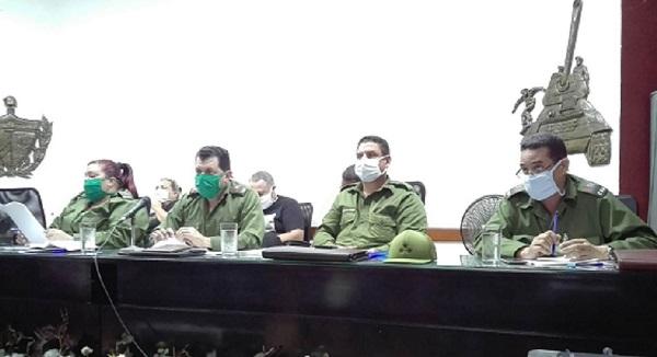 Insta Consejo de Defensa en Camagüey a perfeccionar enfrentamiento a la COVID-19