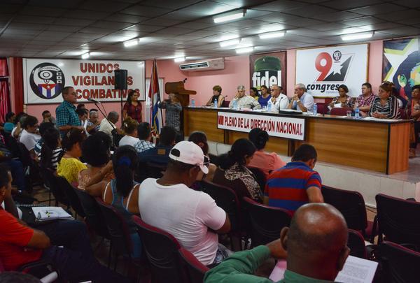 Avanza proceso IX Congreso de mayor organización de masas de Cuba