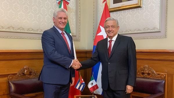 Cuba y México a favor de ampliar cooperación bilateral