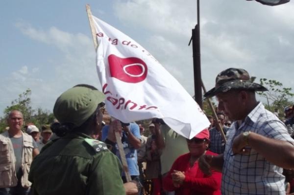Abanderado contingente camagüeyano para construir viviendas en la zona Lombillo-Palma City (+ Fotos)