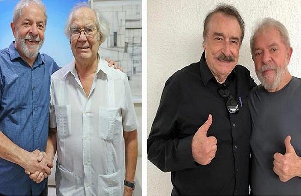 Pérez Esquivel y Ramonet constatan confianza de Lula en la Justicia