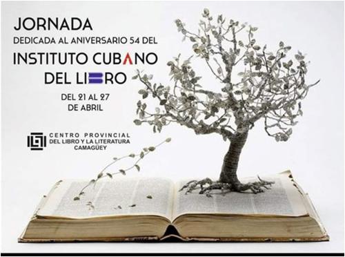 Abre en Camagüey jornada dedicada al aniversario 54 del Instituto Cubano del Libro (+ Video)