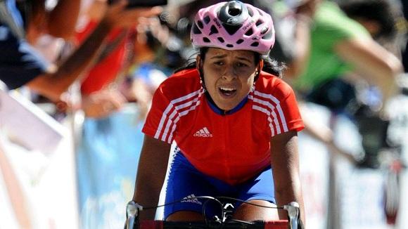 Cubana Sierra sube al podio en inicio de travesía ciclística en Australia
