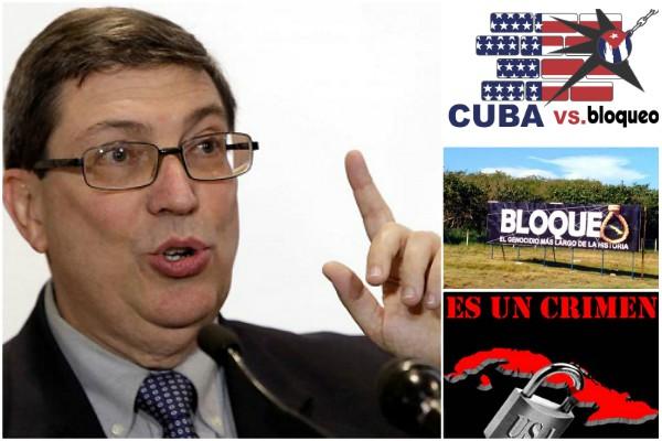 Asevera Bruno Rodríguez que EE.UU. miente para justificar medidas contra Cuba