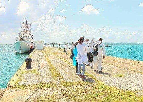 Recibe Cuba a 36 emigrantes retornados por Servicio Guardacostas estadounidense