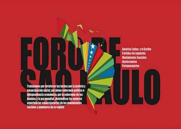 Cuba convoca a ratificar compromiso con la paz en Foro de Sao Paulo