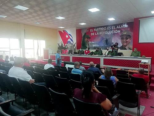 Insisten en Camagüey en estricto cumplimiento de lo establecido ante la COVID-19