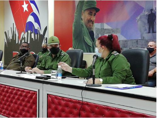 Llaman a extremar medidas ante la COVID-19 en instituciones camagüeyanas (+ Fotos)