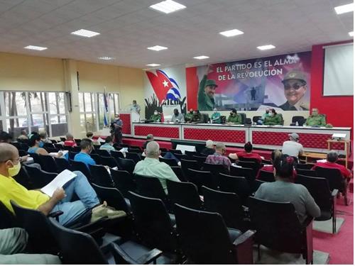 Mantiene Consejo de Defensa Provincial evaluación constante del acontecer socioeconómico en Camagüey