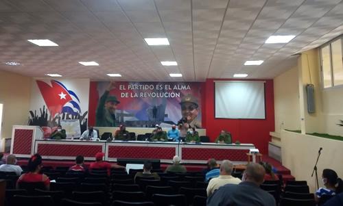 Destaca Consejo de Defensa Provincial en Camagüey quehacer juvenil ante la COVID-19