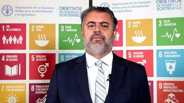 Marcelo Resende, representante del organismo en el país