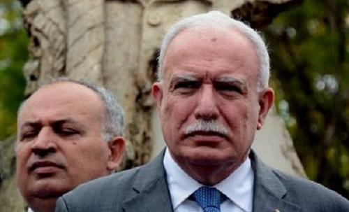 Recibió Díaz-Canel a Canciller palestino