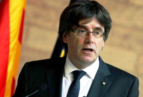 Carles Puigdemont pide liberación de colaboradores catalanes encarcelados