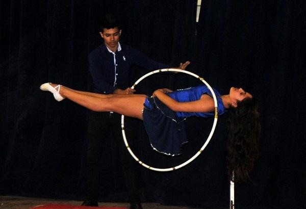 Felicita Díaz-Canel al Circo Nacional de Cuba