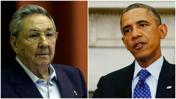 Raúl Castro y Barack Obama sostienen conversación vía telefónica