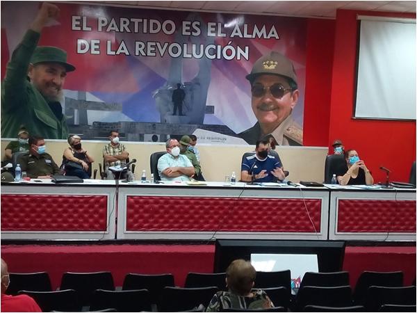 Autoridades camagüeyanas analizan situación epidemiológica y posible impacto del huracán Elsa (+ Fotos)