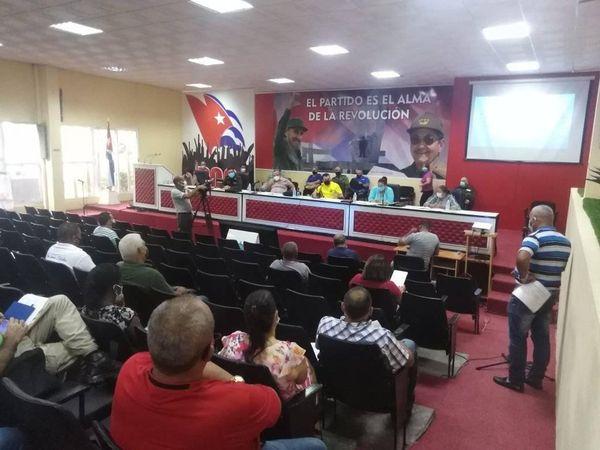 Máxima atención en Camagüey a estrategia de enfrentamiento al rebrote de la COVID-19