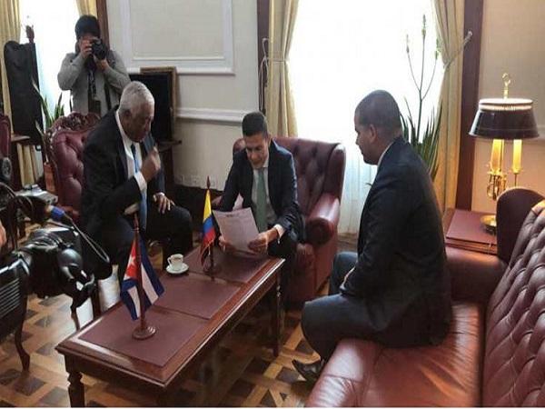 Crean en Colombia Grupo Parlamentario de Amistad con Cuba