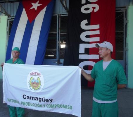 Reconocen compromisos productivos de Fábrica de Piensos de Camagüey