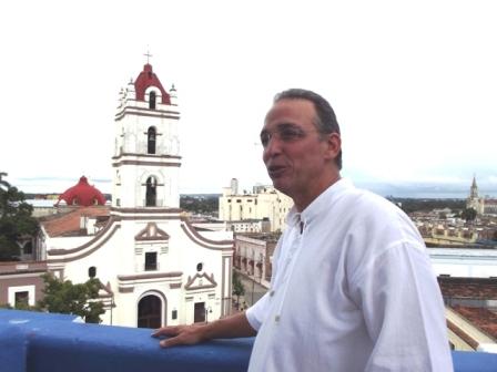 Un héros contemporain a visité la ville de Camagüey