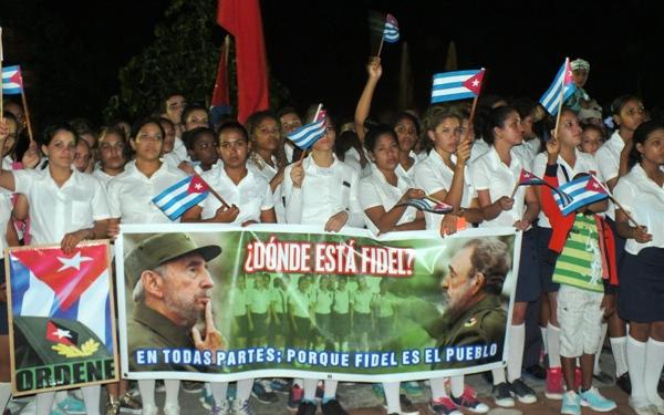Fidel regresa a Camagüey (+ Fotos)