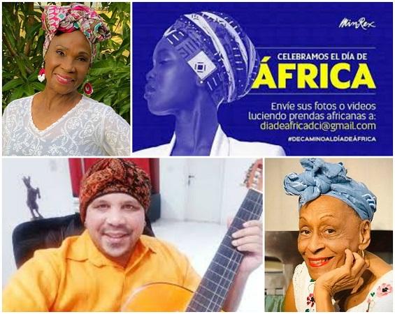 Artistas y personalidades cubanas muestran su apoyo al #ChallengeAfricano