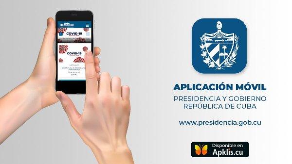 Aplicación Presidencia Cuba favorece acceso a la información