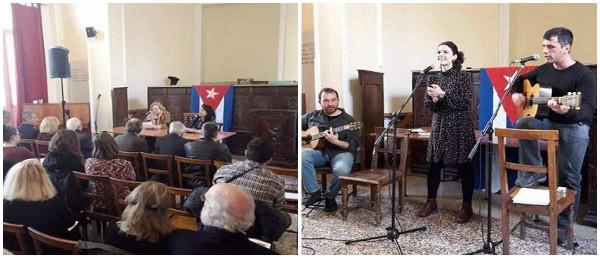 Amigos de Cuba en Grecia celebran aniversario 60 de la Revolución