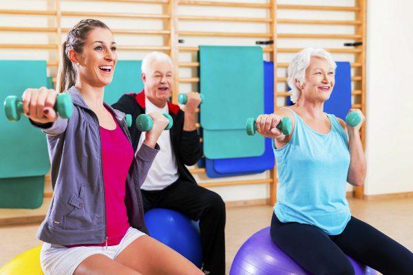 Aeróbicos ayudan a mantener salud mental durante el envejecimiento