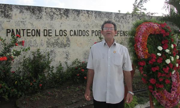 Elio Valentí Cambra, combatiente internacionalisa.