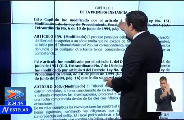 Reafirman en Cuba legalidad de procesos a participantes en disturbios (+ Video)