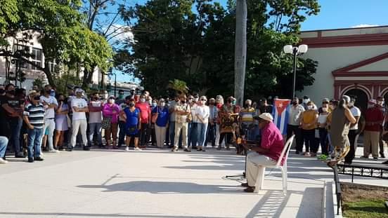 Intelectuales y artistas camagüeyanos se movilizan en apoyo a la Revolución cubana (+ Fotos)