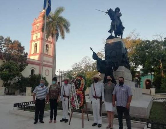 Camaguey citizens pay tribute to Ignacio Agramonte