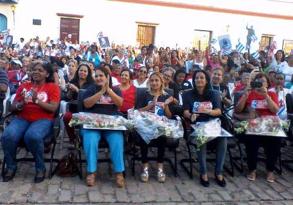 Camagüey accueille la célébration nationale pour l'anniversaire 57 de la FMC