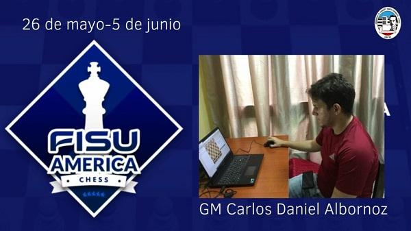 Camagüeyano Carlos Albornoz, atleta más destacado del Torneo Universitario de Ajedrez Online (+ Fotos)