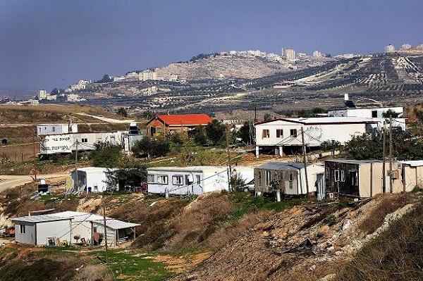 Israel otorga estatus legal a asentamiento erigido en Cisjordania