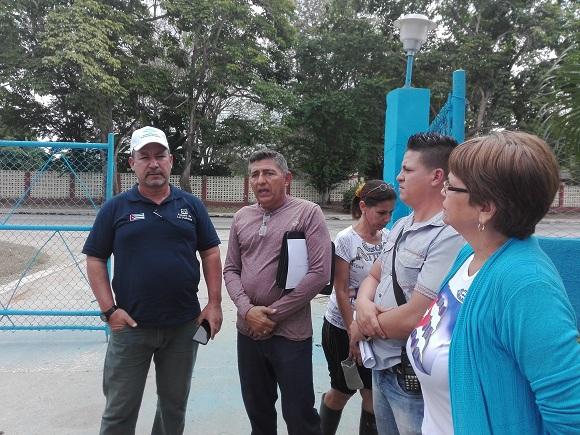 Chequea Presidente del Instituto Nacional de Recursos Hidráulicos programa inversionista en Camagüey (+ Post)