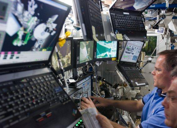 Por primera vez envían un superordenador al espacio