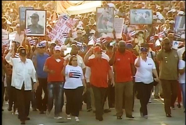 Santiago de Cuba protagoniza histórica celebración proletaria