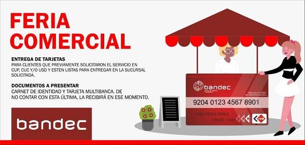 Realizará Bandec Camagüey feria comercial para la entrega de tarjetas magnéticas (+ Post)