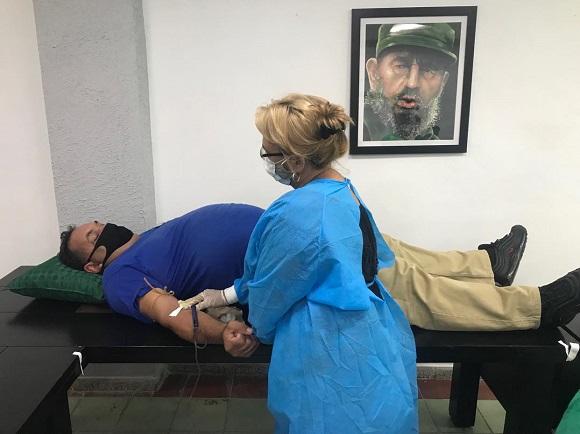 Homenaje en Camagüey a los donantes de sangre (+ Fotos)