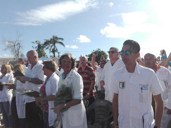 Galenos de la provincial en acto por el Día de la Medicina Latinoamericana