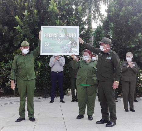 Ratifican miembros del Ministerio del Interior en Camagüey compromiso con la Revolución (+ Fotos)